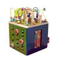 B.toys 动物园活动木立方 37.5*37*48cm 中号