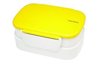 Takenaka 双层便当盒 黄色