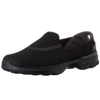 历史新低、限尺码 : SKECHERS 斯凯奇 GO WALK 3 女鞋 一脚蹬休闲鞋 *2双