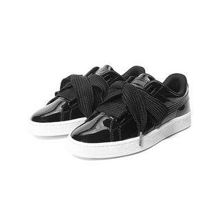 PUMA 彪马 Basket Heart 女士休闲运动鞋 363073-01 黑色 37.5