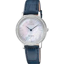 CITIZEN 西铁城 EX1480-15D 女士光动能腕表
