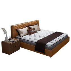 AIRLAND雅兰床垫 希尔顿总统版 天然乳胶护脊弹簧床垫 豪华垫层 1.5m*2.0m 25cm