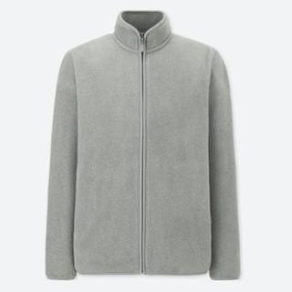历史低价、新补货 : UNIQLO 优衣库 400337 男士摇粒绒夹克