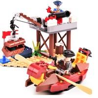 COODY 古迪 海岸防线 积木玩具