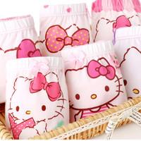Hello Kitty 凯蒂猫 儿童纯棉内裤 5条装