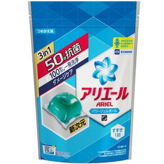 日本进口 碧浪 机洗专用洗衣凝珠 20颗/袋 非洗衣液 *2件