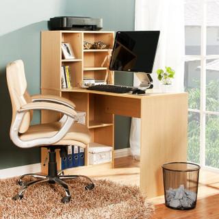 好事达书桌书架组合 台式电脑桌 简约一体式学习桌忆彤1621