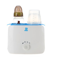 小白熊 HL-0861 双奶瓶暖奶器  嫩粉色 +凑单品