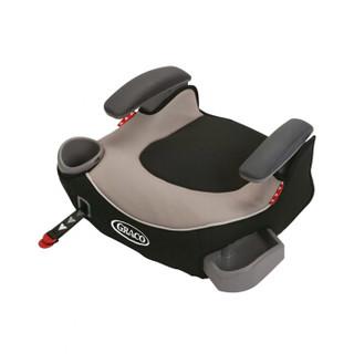 美国原装 GRACO葛莱汽车儿童安全座椅增高垫4-12岁 ISOFIX\LACTH 灰色