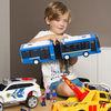 SIMBA 仙霸 公交车玩具 蓝色双节巴士(带人偶)