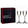 Riedel 礼铎 Accanto系列 290ml香槟杯 490/08S 水晶玻璃透明高脚葡萄酒杯 2只礼盒装 149元