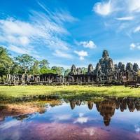 国泰/港龙航空 广州-柬埔寨金边/暹粒 2-7天往返含税机票