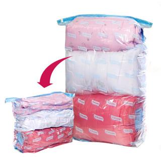 太力   真空压缩袋整理袋   特大号   立体式   2个装无泵 *5件+凑单品