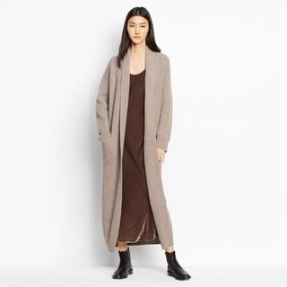 VINCE Sweater Robe 女士羊绒混纺外套
