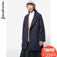 stradivarius 05821541010 女士双排扣大衣