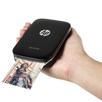 HP 惠普 小印 Sprocket 100 口袋照片打印机  黑色