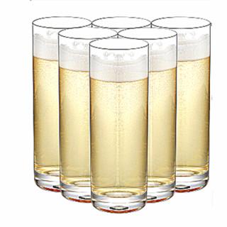SURANER 无铅玻璃啤酒杯 6个装