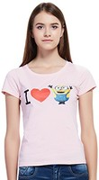 Minions 小黄人 BELLO CHINA 女式 短袖T恤 MMMATE1530018W