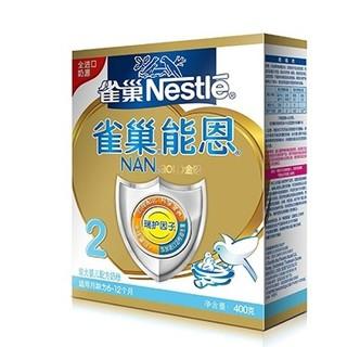 Nestlé 雀巢 能恩 较大婴儿及幼儿配方奶粉 2段 400克