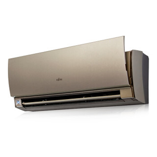 富士通 正1.5匹 二级能效 全直流变频 节能 家用空调挂机ASQG12LUCB-N(金色)(KFR-35G/Bpubn)