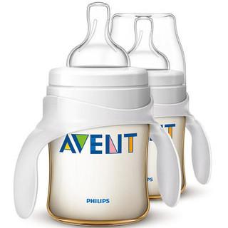 历史新低 : AVENT 新安怡 SCF660/27 宽口径 PES奶瓶 125ml*2个