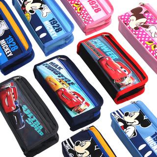 迪士尼笔袋女男小学生多层笔袋儿童文具