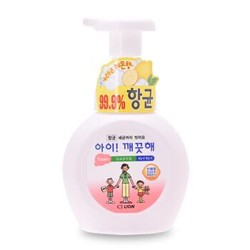 希杰狮王  韩国进口  爱可酷她泡沫洗手液(柠檬味)250ml *2件