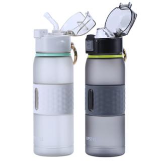 悠家良品 健身运动水杯 吸管款/直饮款可选 500ml