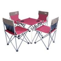Whotman 沃特曼 户外折叠桌椅五件套 一桌四椅 WT2130