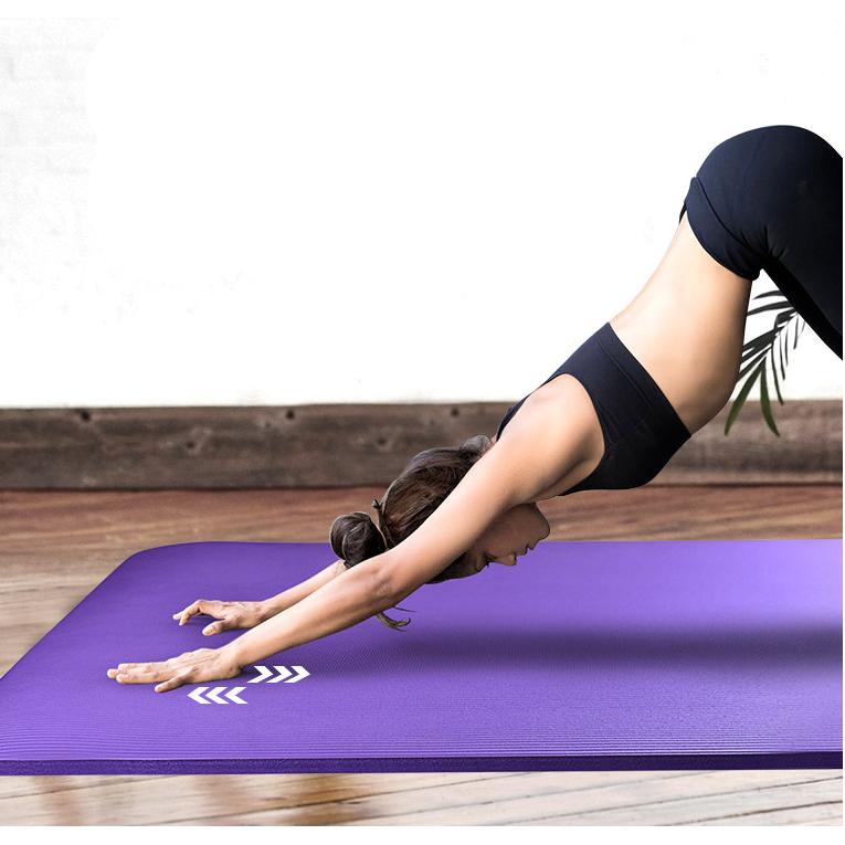 悦步 瑜伽垫两件套 185*80cm*10mm 微瑕疵