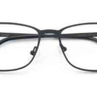 HAN HD49322 不锈钢 光学眼镜架 +1.67翡翠绿膜非球面树脂镜片