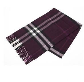 BURBERRY 博柏利 3994302 5010B 羊绒围巾 紫色