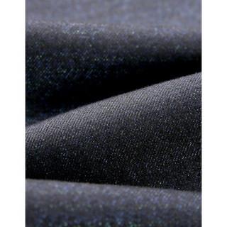 HLA 海澜之家 HKNAD3V185A 男士直筒牛仔裤 黑色 175/88A
