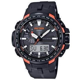 京东PLUS会员 : CASIO 卡西欧 PROTREK系列 PRW-6100Y-1 太阳能电波登山腕表