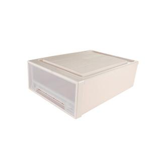 振兴 抽屉式收纳箱(47大号) 单层可自由叠加组合整理柜透明储物箱收纳盒塑料 CH1360 *2件