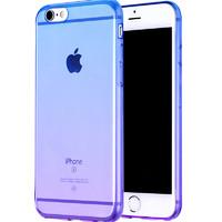 渐变色iphone6手机壳 苹果6s硅胶6plus软胶i6个性创意puls女款sp