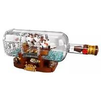 新品发售:LEGO 乐高 Ideas 创意系列 21313 瓶中船