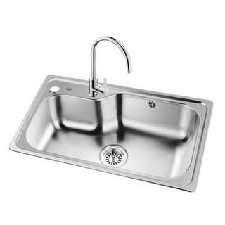 OULIN 欧琳 OLC73450 水槽套餐(含OL-8006龙头)