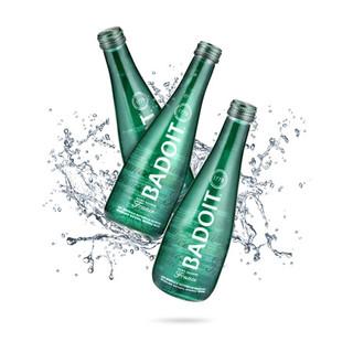 法国进口 波多含气天然矿泉水 330ml*20瓶 玻璃瓶装 整箱装