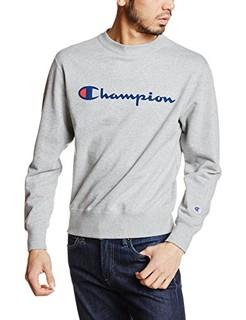 Champion圆领大Logo运动卫衣
