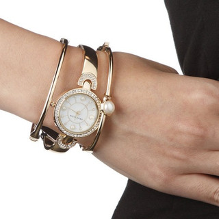ANNE KLEIN AK/1960GBST 女款时装腕表手镯套装