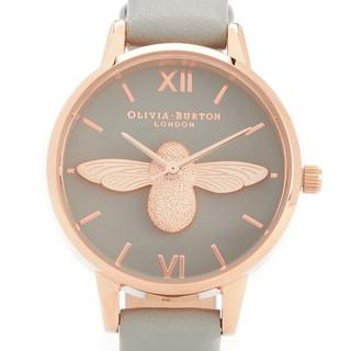 Olivia Burton 蜜蜂浮雕女士腕表