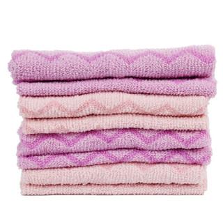 茶花 CHAHUA 波浪条纹清洁巾百洁布 (买3送1)B45002 *3件