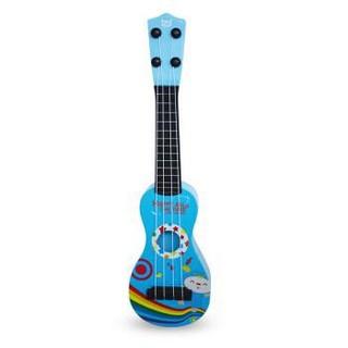 buddyfun 贝芬乐 儿童小吉他 益智玩具尤克里里 琴弦可调节 88043蓝色 *3件