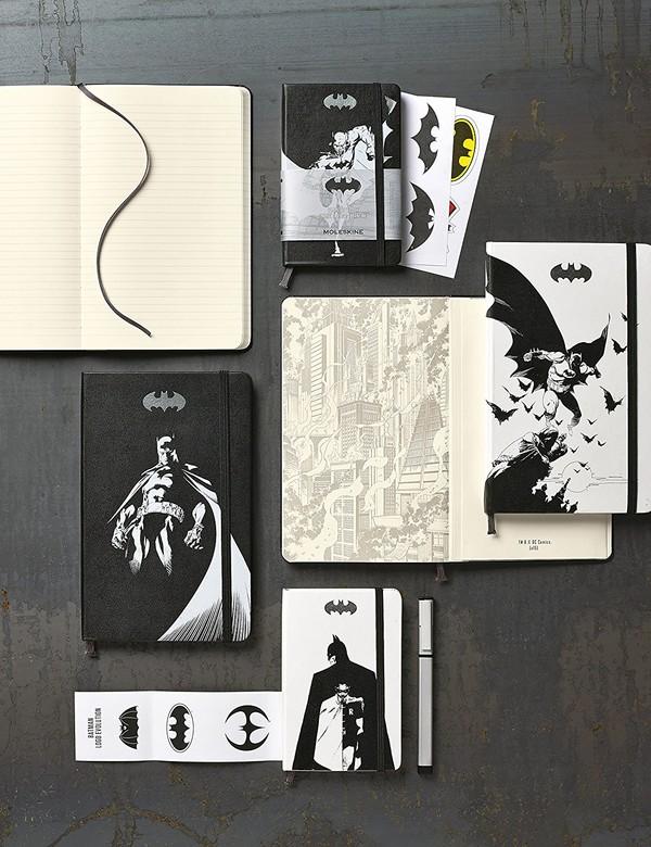 日本亚马逊  精选MOLESKINE 限量版口袋笔记本 促销(含星战、蝙蝠侠、Hello kitty等)