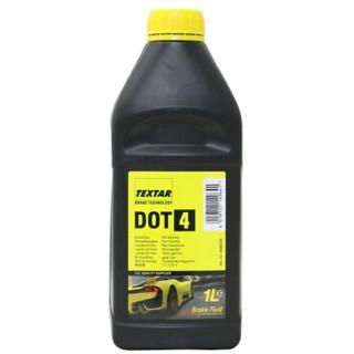 泰明顿(TEXTAR) 刹车油 制动液 DOT4 1L英国原装进口(干沸点270℃/湿沸点163℃) *4件