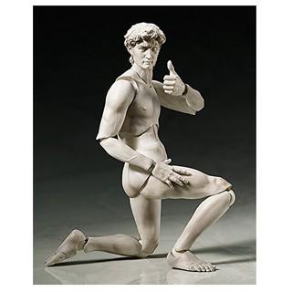 figma 桌上美术馆系列 大卫像 可动人型