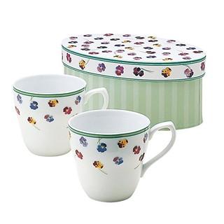 凑单品、中亚Prime会员 : NARUMI 鸣海制陶 40761-32627 细瓷对杯套装 240ml*2个