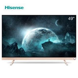 海信(Hisense)LED49V1U 49英寸VIDAA-TV 4K智能电视 64位14核HDR动态显示