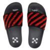 新品发售、限UK 9码 : OFF-WHITE OFF FLYKNIT 男款拖鞋